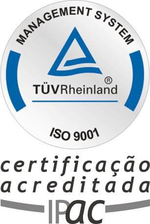 Entidade certificada ISO9001