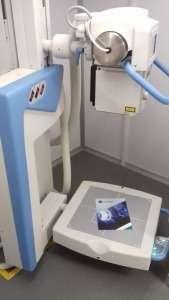 Inauguração de equipamento de RX em unidade UMR da ARSLVT