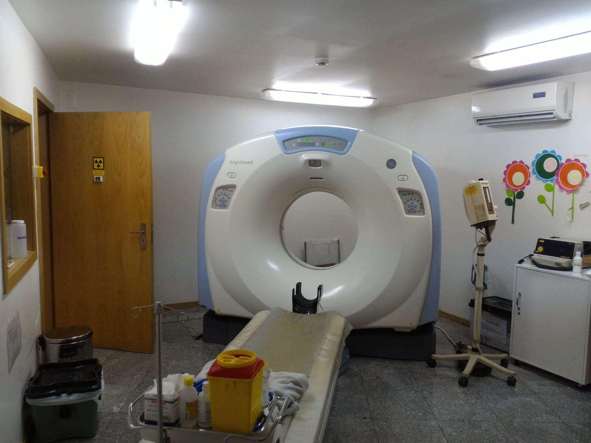 Equipamento médico TAC