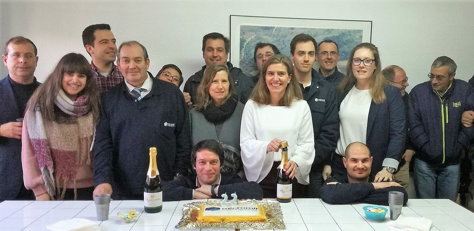 micromil Micromil celebra mais um aniversário em equipa 22 aniversa  rio micromil equipa e1528384222789
