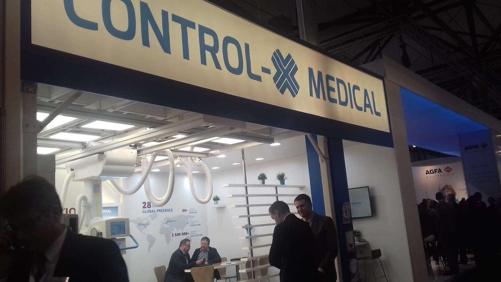 Control-X Medical micromil Micromil visita European Congress of Radiology em Viena de Áustria control x medical