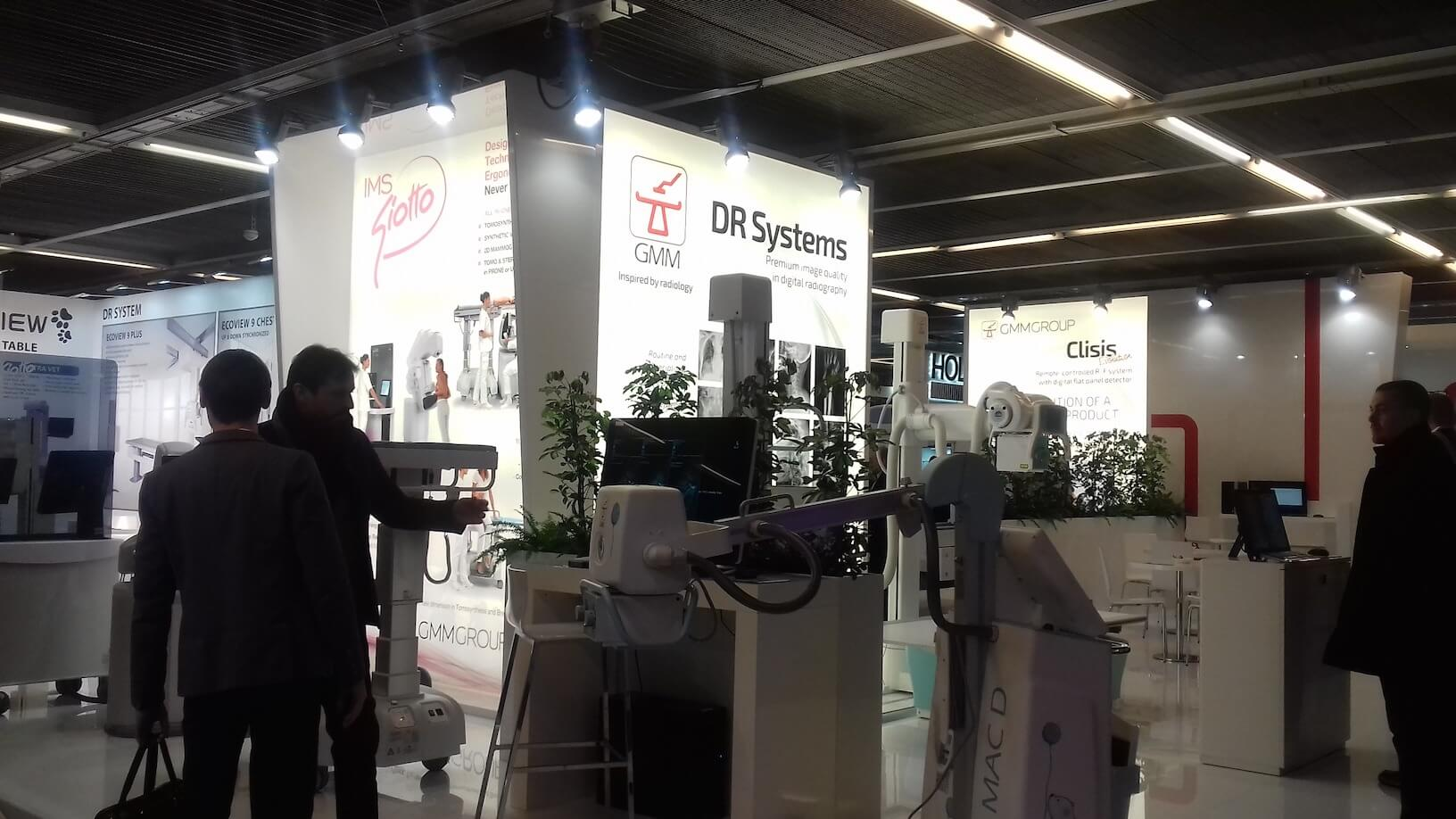 IMS Giotto, GMM micromil Micromil visita European Congress of Radiology em Viena de Áustria imsgioto gmm