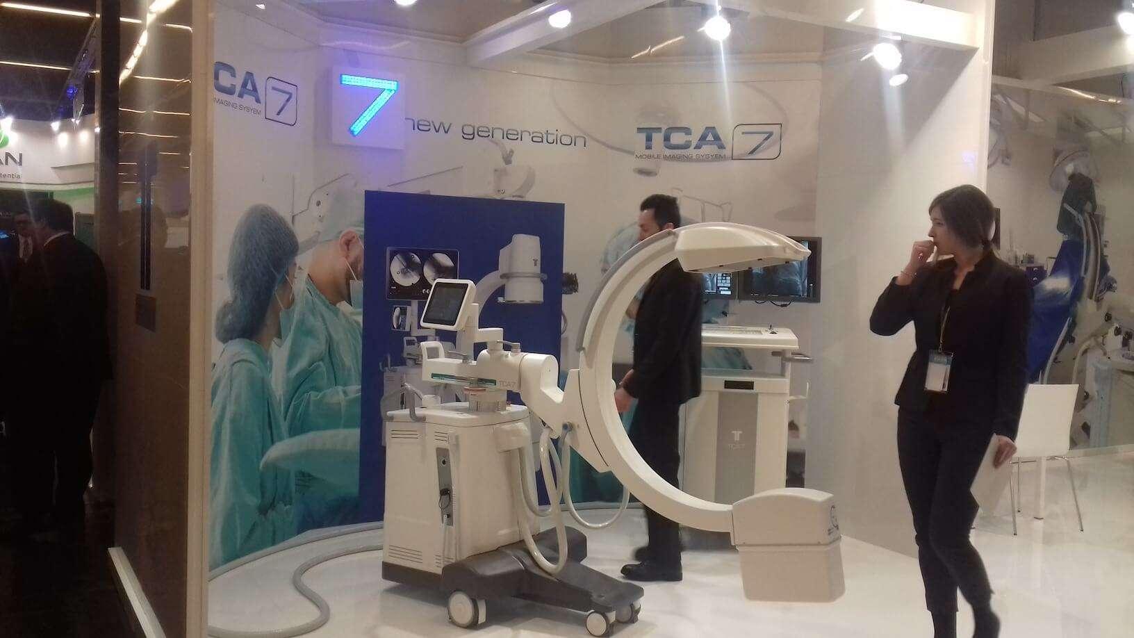 TCA micromil Micromil visita European Congress of Radiology em Viena de Áustria tca