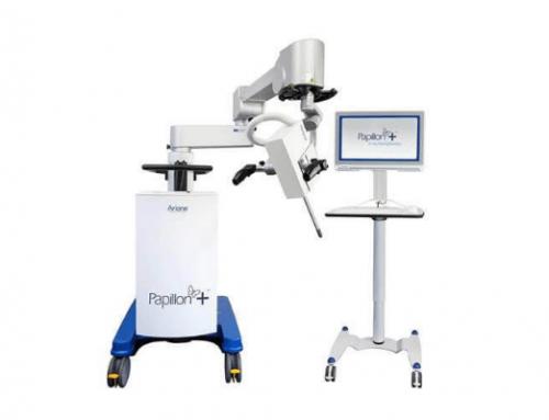 PAPILLON+, o sistema de braquiterapia com radiação, apresentado pela Micromil