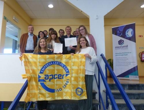 APCER formaliza Certificação de Qualidade na Micromil