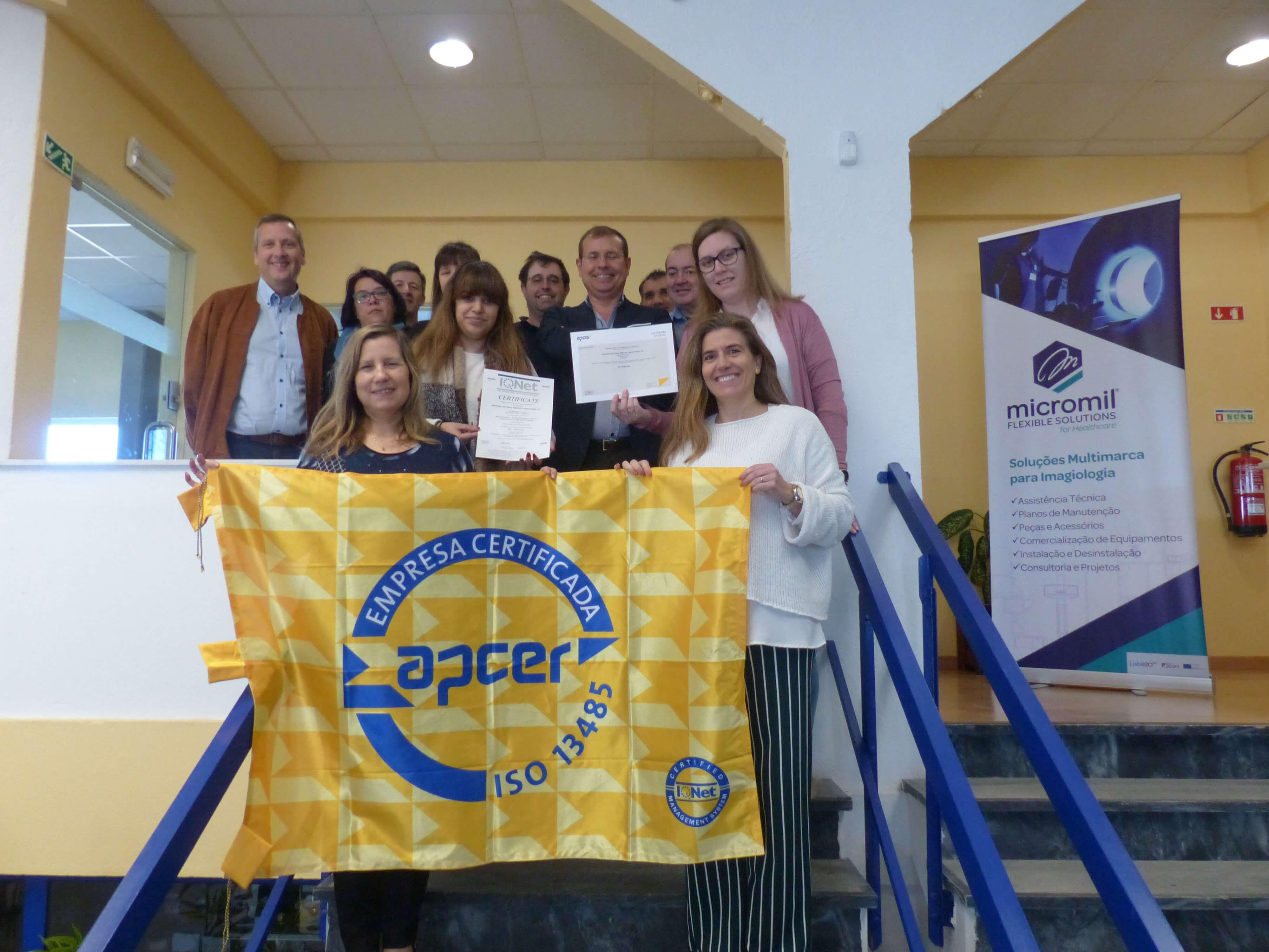 Certificação APCER Micromil