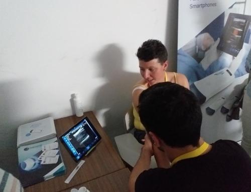 Micromil no Curso de Punção Venosa Periférica Ecoguiada, na ESSPP, no Porto