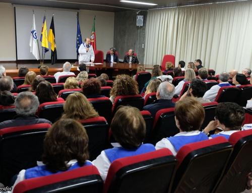 Homenagem aos beneméritos da Liga dos Amigos do Hospital de Viana