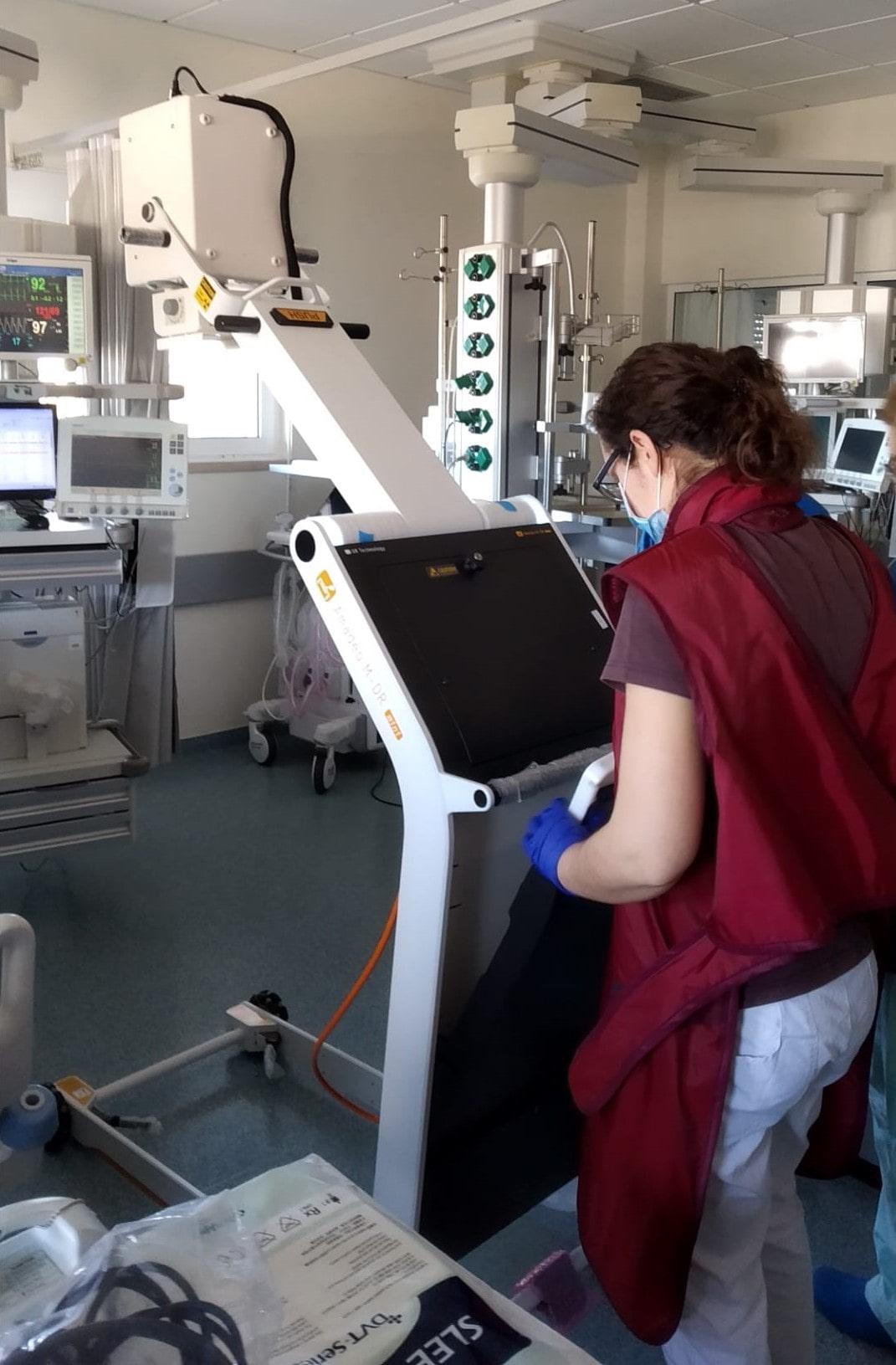 RX Portátil Equipamentos Médicos Micromil
