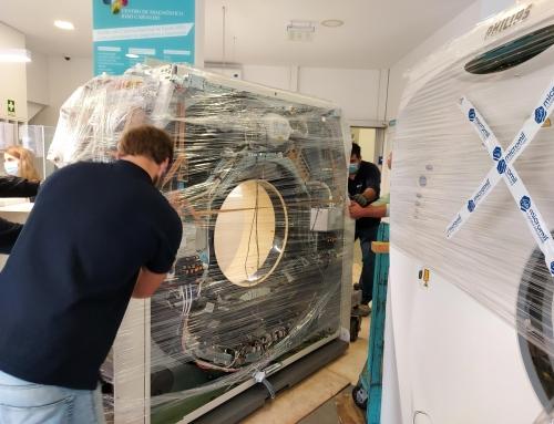 Instalação de um TAC no Centro de Diagnóstico João Carvalho em Barcelos.